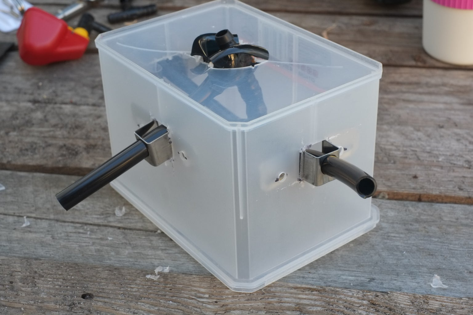 Putting the Junction Box Together