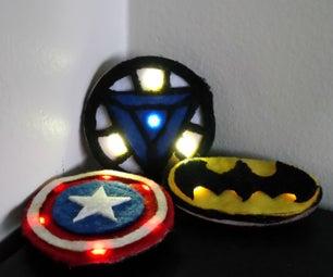 超级英雄LED可穿戴设备