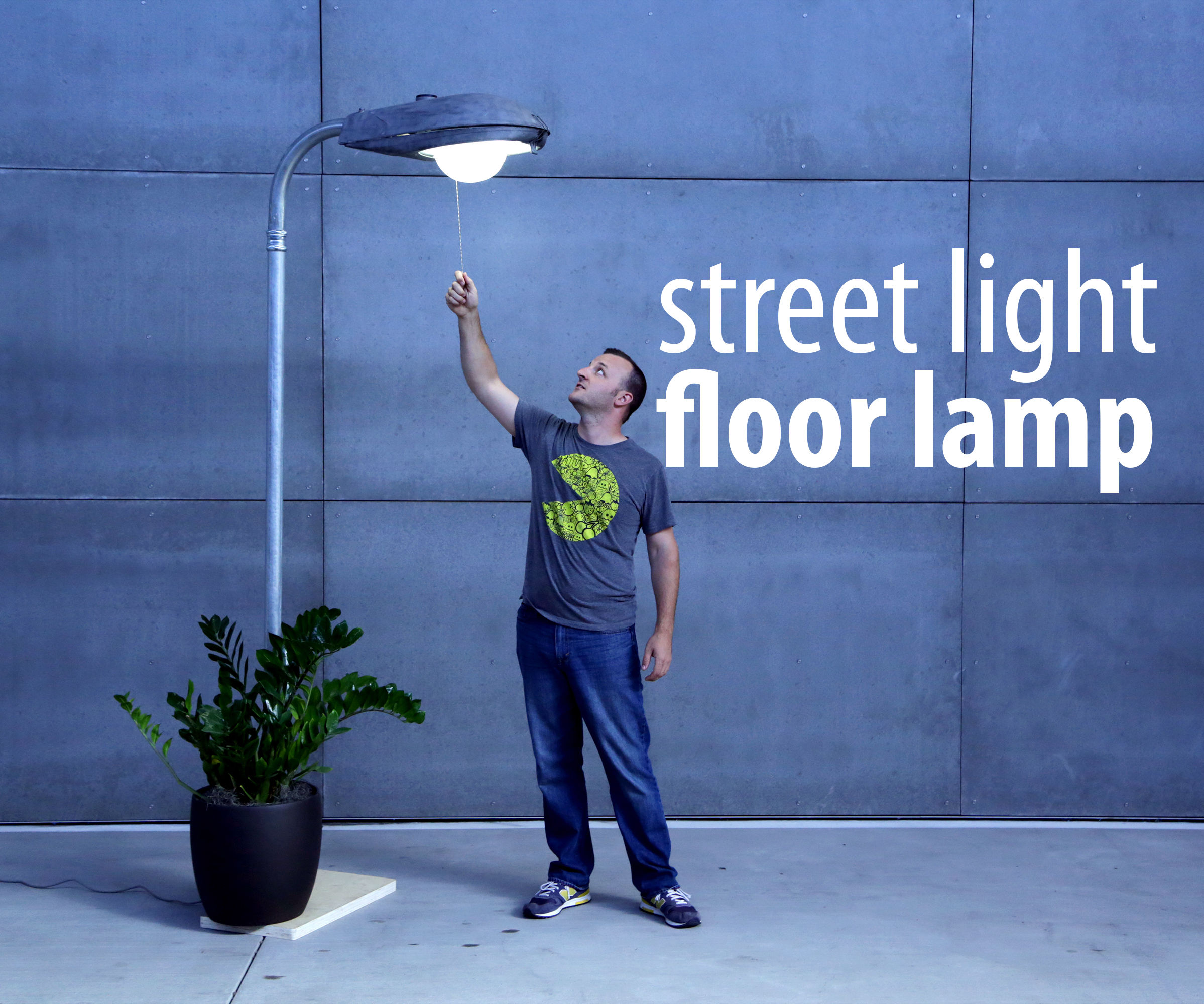 Street light floor lamp