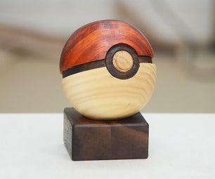 I Made a Hardwood Pokéball