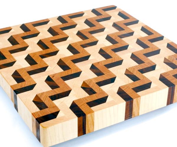 Making a 3D End Grain Cutting Board #3