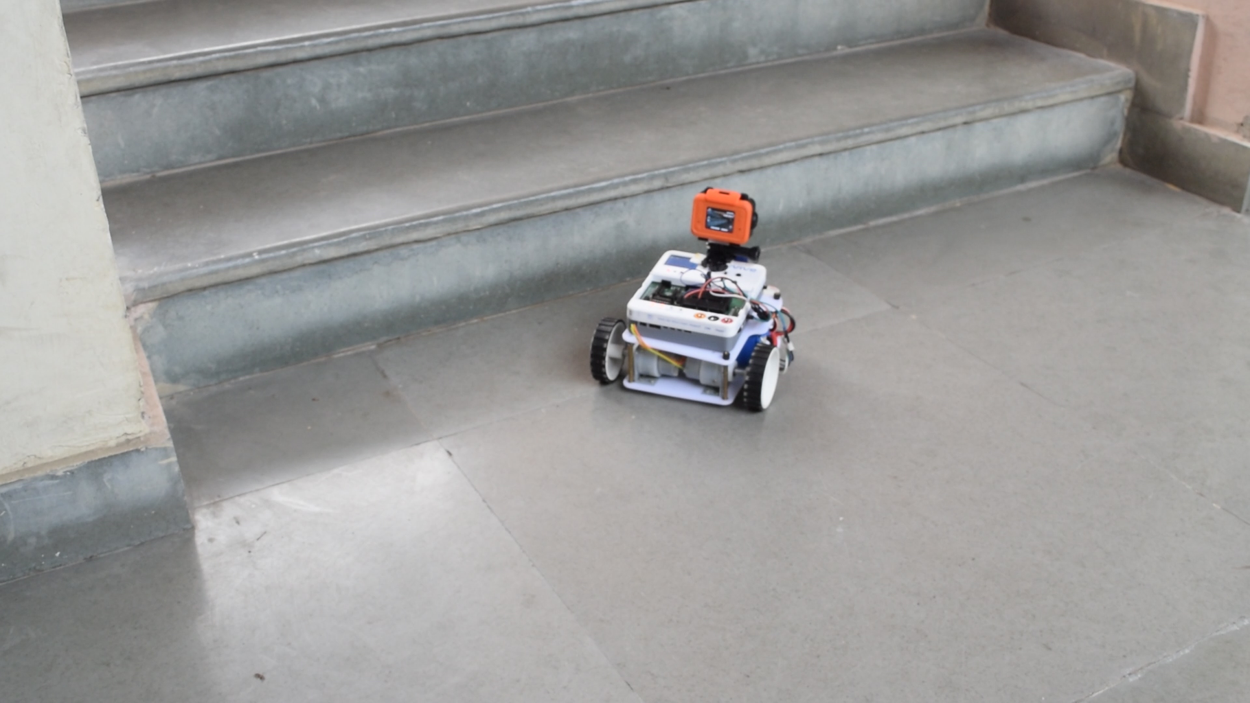 Upload the Obstacle Avoidance Robot Code