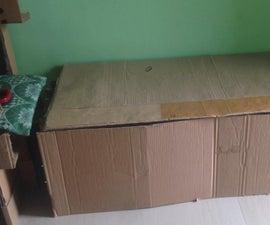 Dual Use Cardboard Furniture