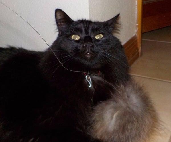 "Fuzzy ""Tribble"" Cat Toy"