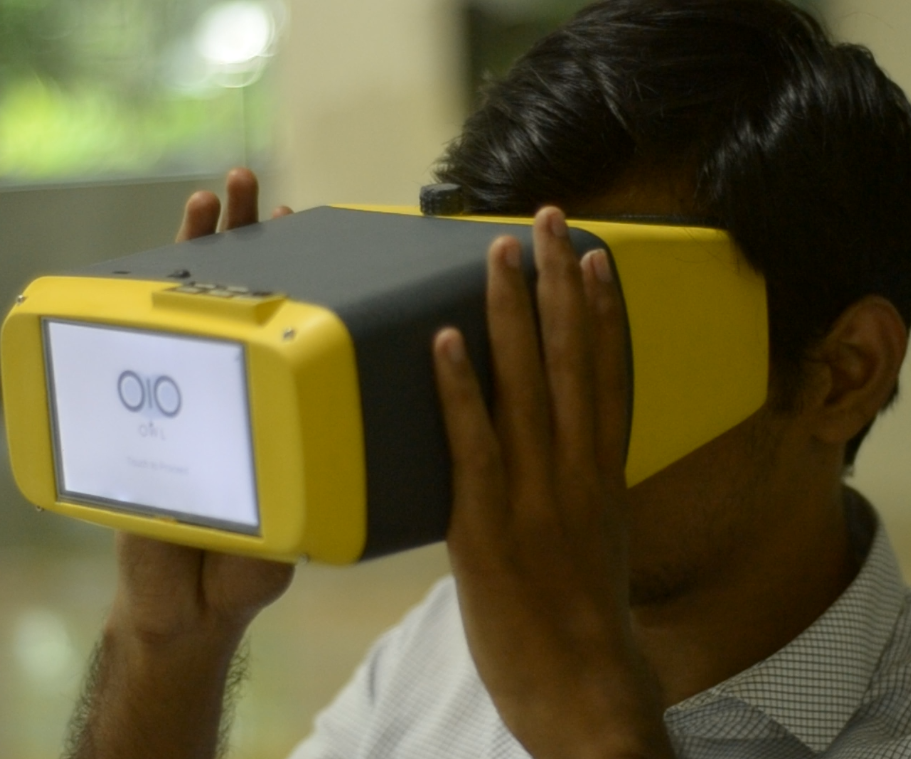 Open Indirect Ophthalmoscope (OIO)