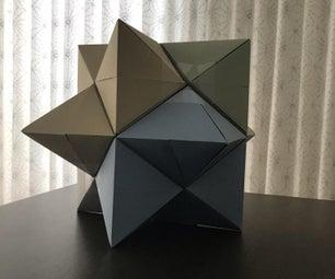 重新审视A4 Dizyramid并找到菱形十二锭的第一个插图