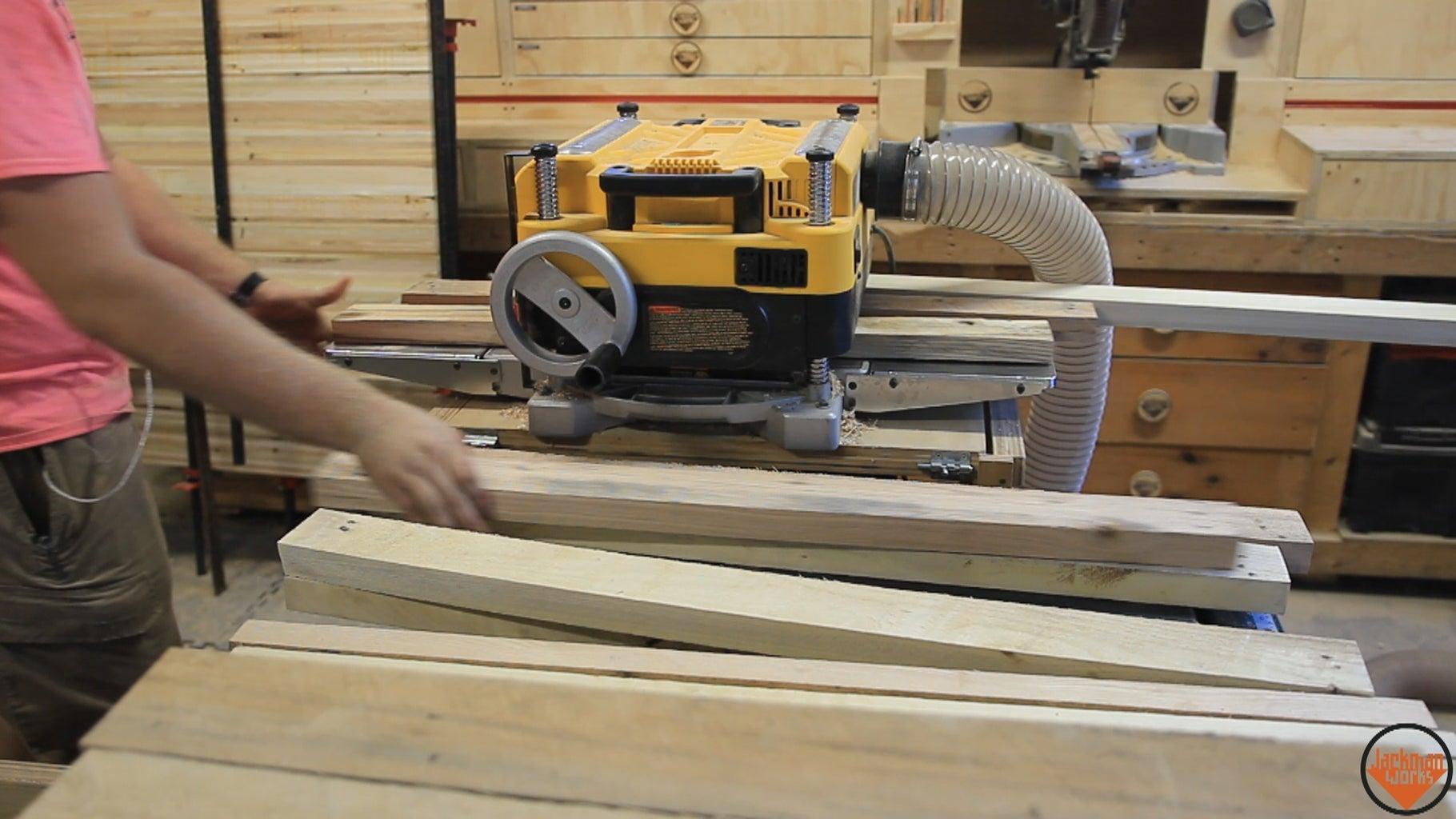 Milling Lumber for Frame