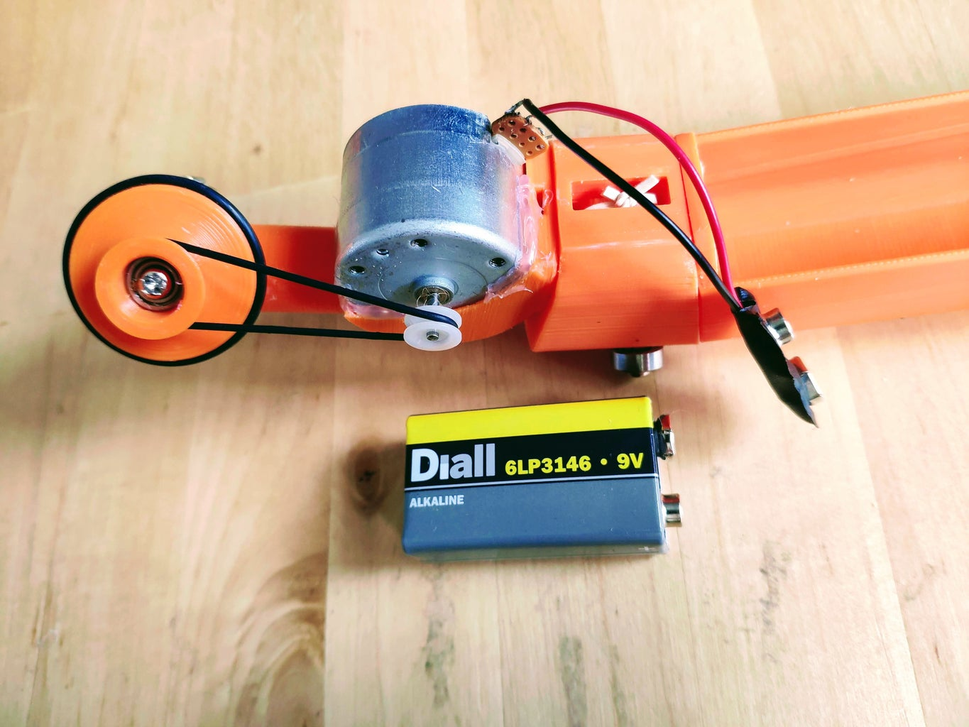 Assemble the Drive System