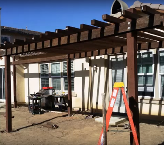 Enjoy Your New Structure and Shade!