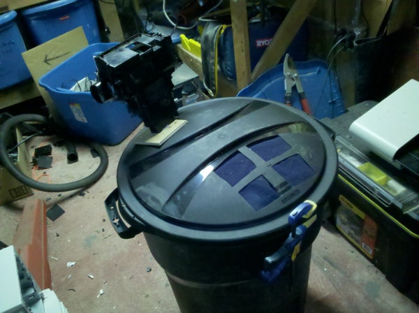 Super Garbage Can-vac
