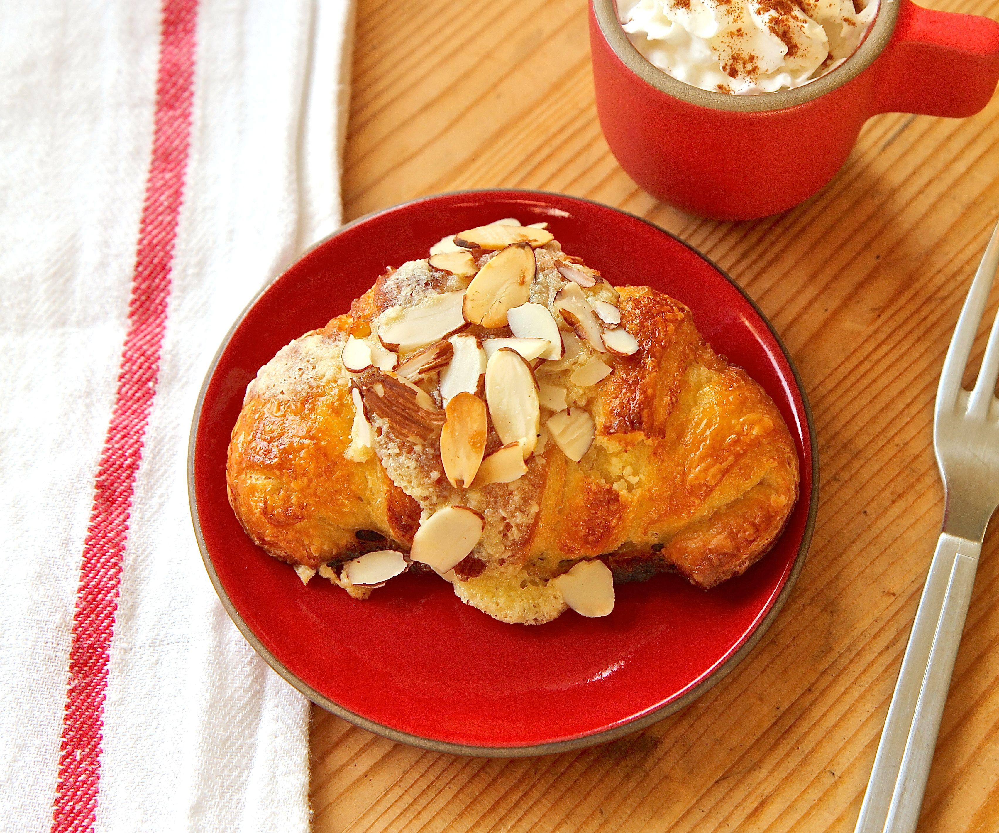 Homemade Almond Croissants