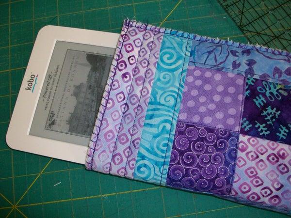 Quilted Cozy! Custom Fit EReader Pocket