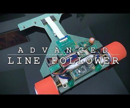 Advanced Line Following Robot
