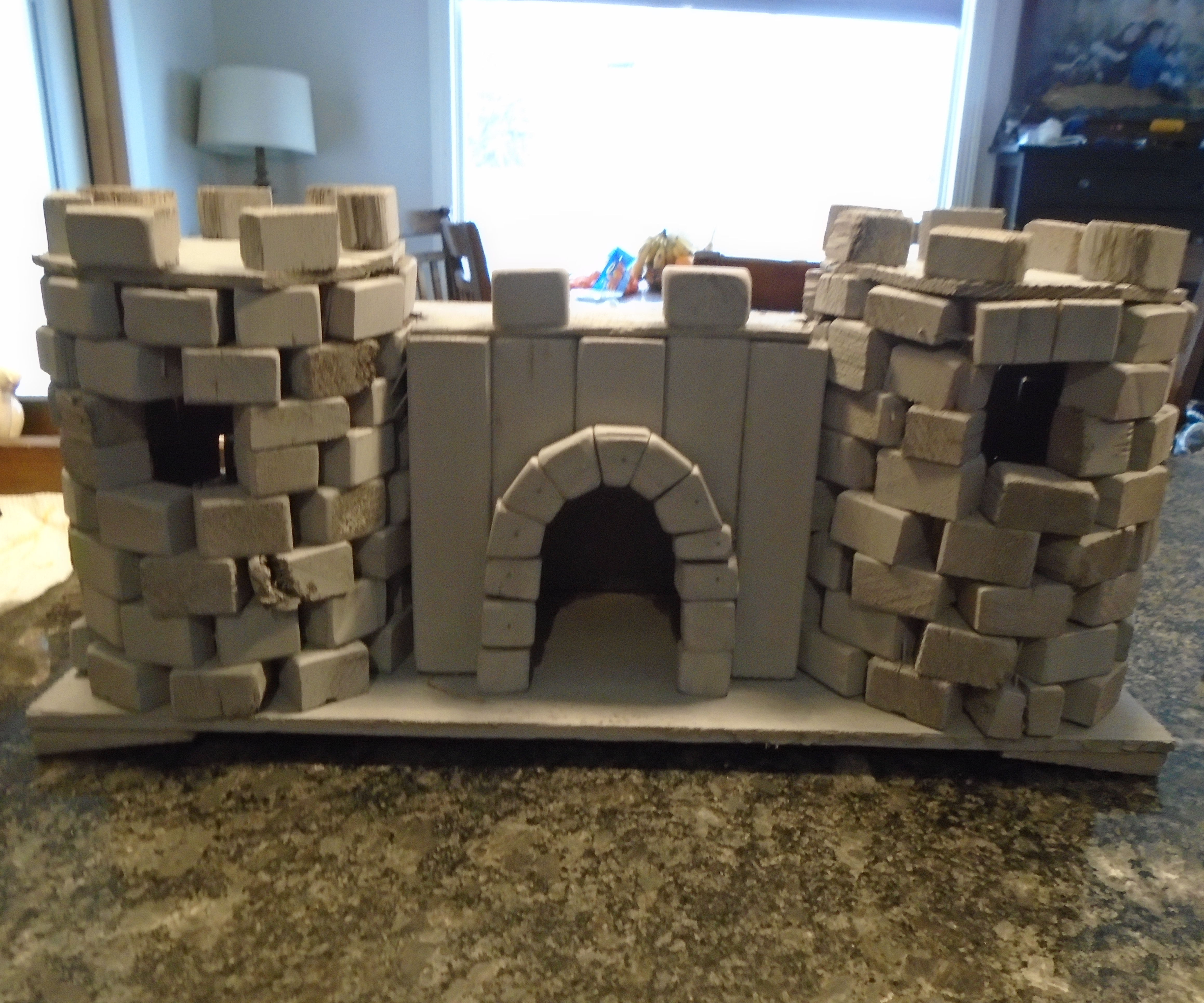 Reclaimed Wood Ancient Bird Castle