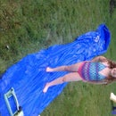 Back yard fun or hillbilly slip n slide