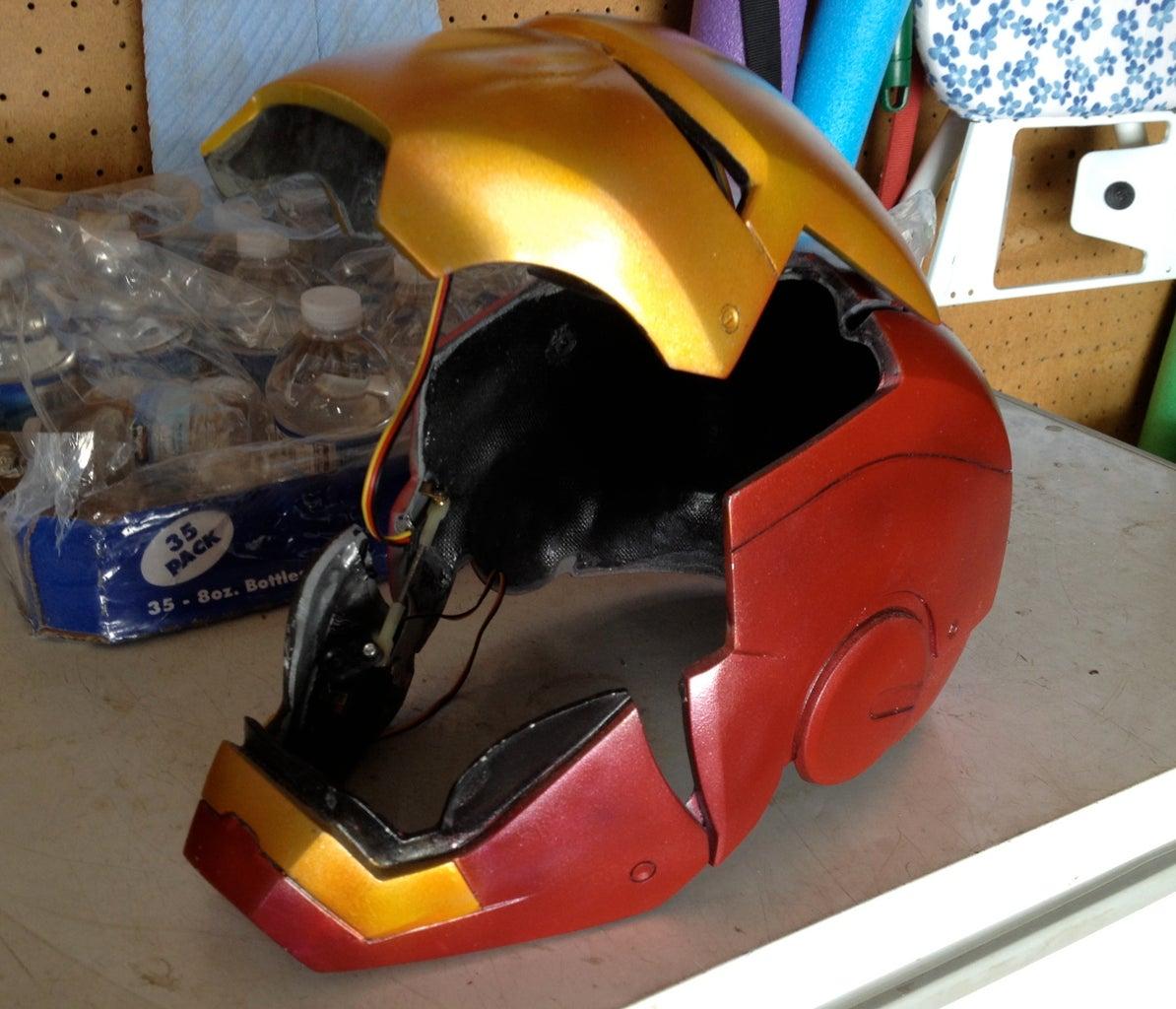 Animatronic Iron Man Mk III Suit