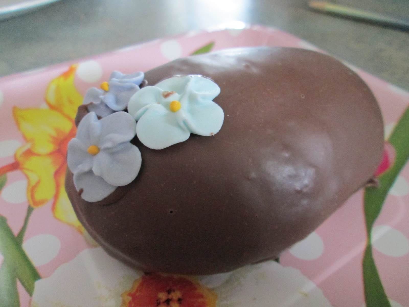 Chocolate Covered Marshmallow Eggs