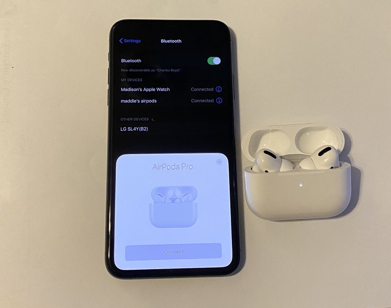 Finish the Connection Process of the Second Set of Airpod Pro's