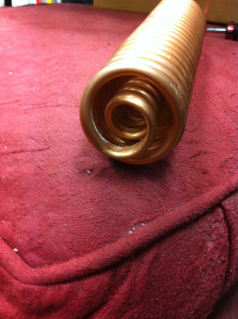 Winding the Condenser Coil