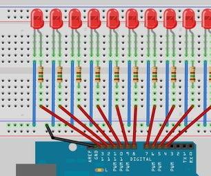 Arduino Workshop-LED Chase Effect