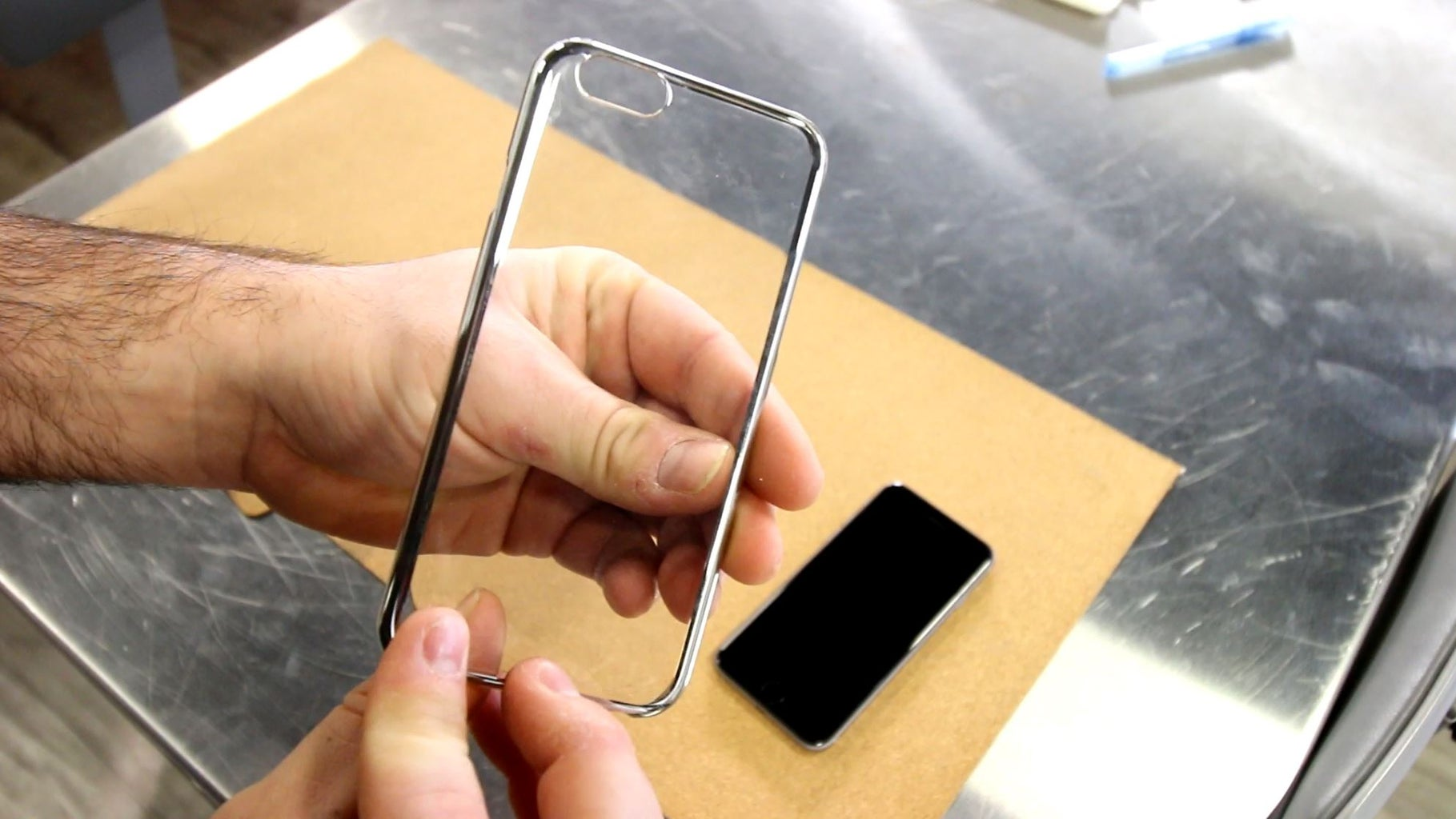 Assembly - (1) Clear Case