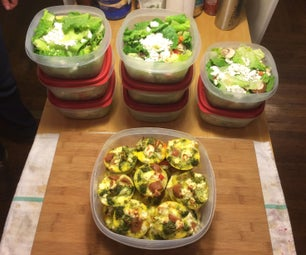 A Week of Healthy Meals Made in 2 Hours