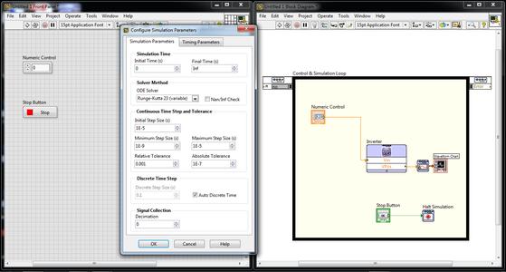 Configure Simulation Parameters