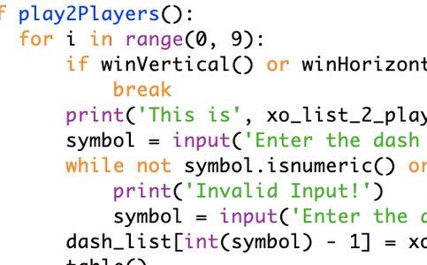 While Loop Version 2.0 - For