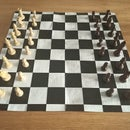 Duct Tape Chess Board Mat