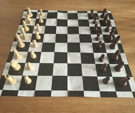 Duct Tape Chess Board