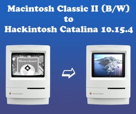 Macintosh Classic II Color Hackintosh