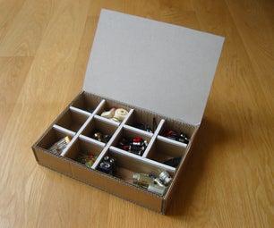 Cardboard Component Storage