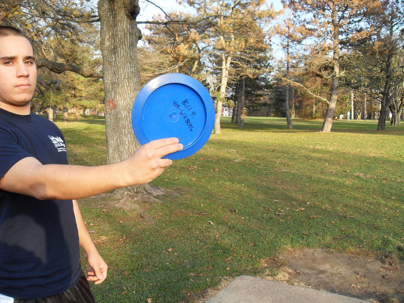 Gripping the Disc- Choice #2