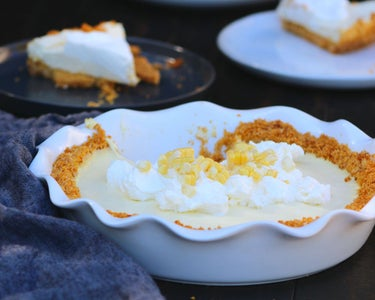 Sweet Corn Cream Pie