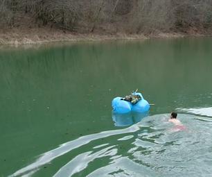 Trash Bags Reusable Survival Raft