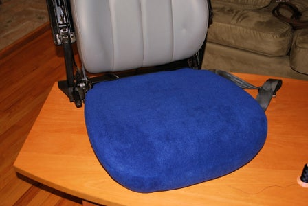 Final Pinning and Sewing the Seat Base