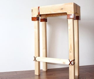 How to Build a Bar Stool Using Plastic Bottles?