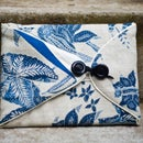 Upholstered iPad Case with Screen Protector