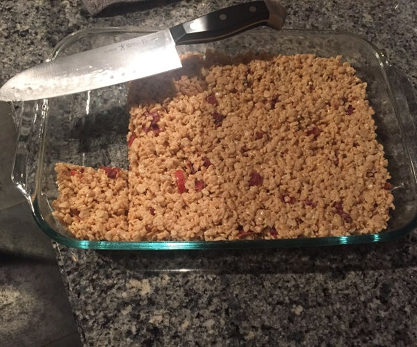 Brent's Browned Butter Maple Bacon Rice Krispie Treats