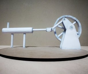 PAPER-MADE STIRLING ENGINE MODEL | How to Make