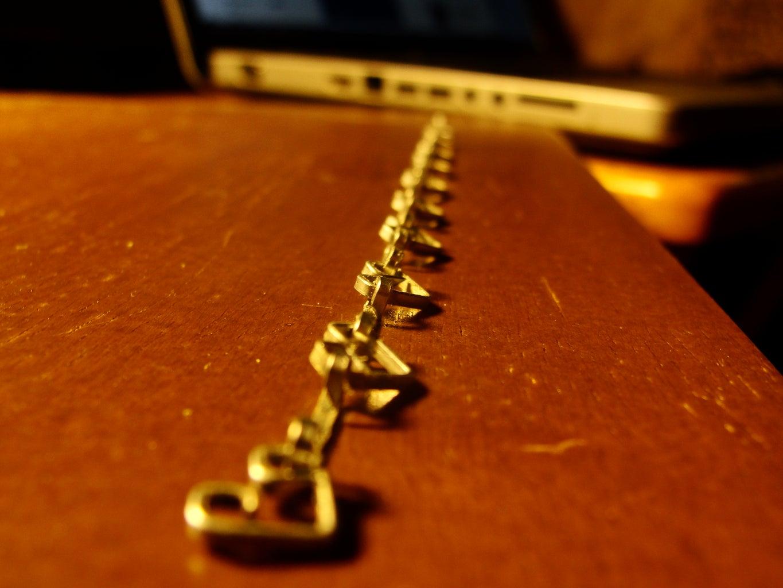 Heart Bracelet From Staples