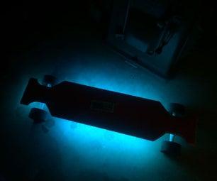 Glowing Longboard
