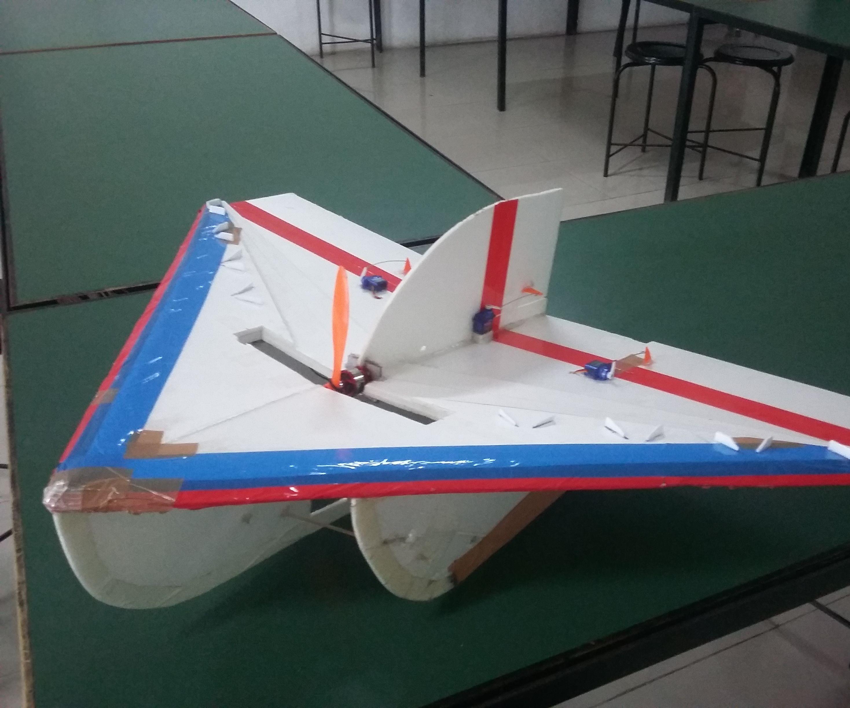 RC Delta Plane With Kfm3 Airfoil