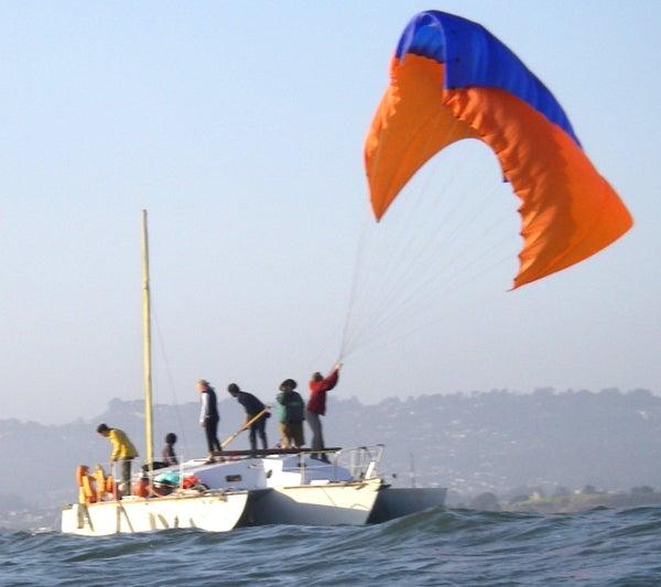 Free Yacht Chapter 12: Kiteboat!