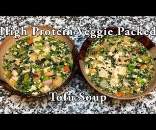 Tasty & Easy Tofu Soup