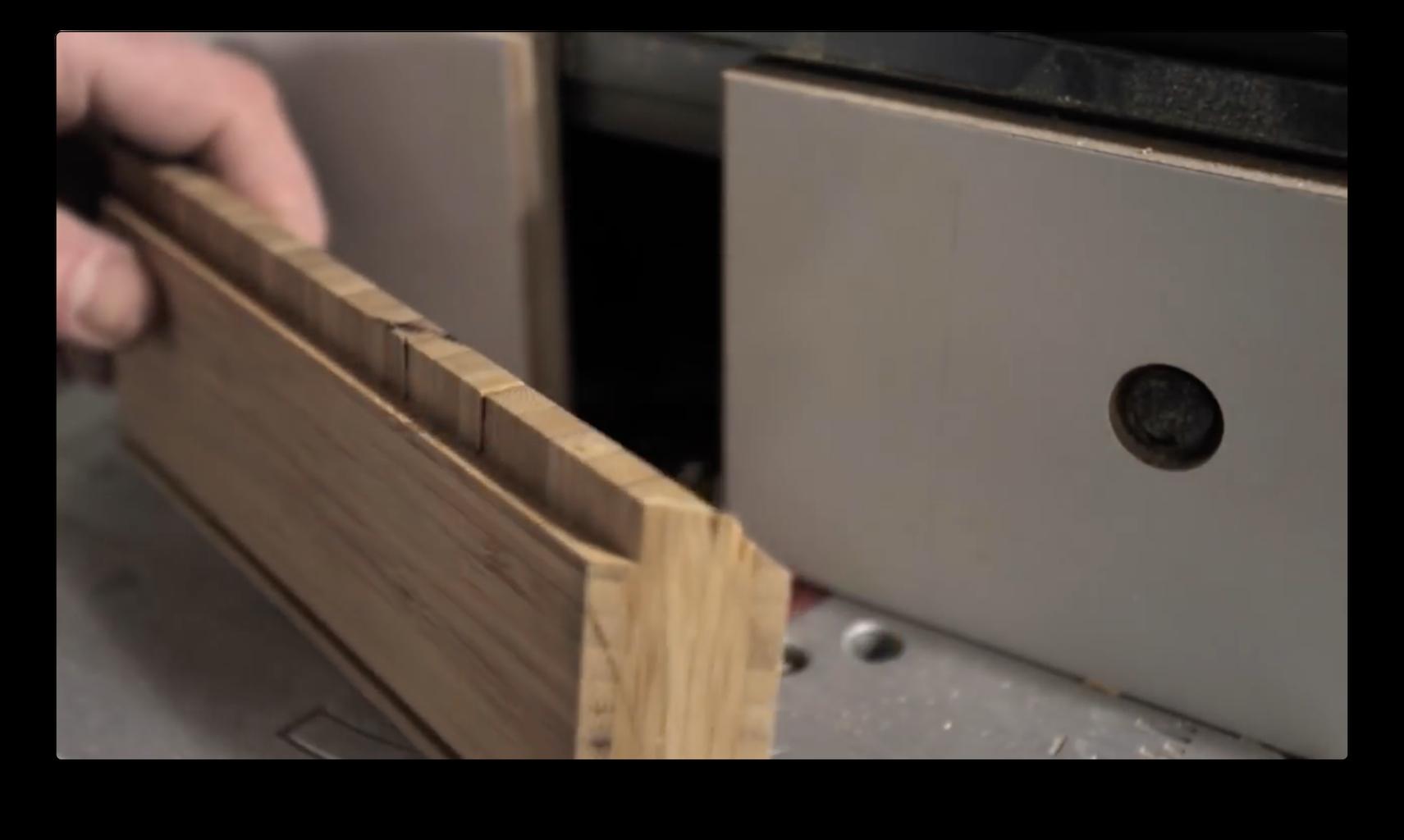 Cut the Wood Parts