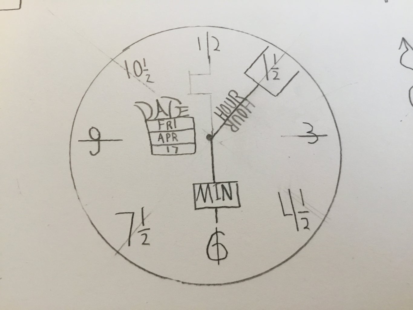How to Draw a Clock