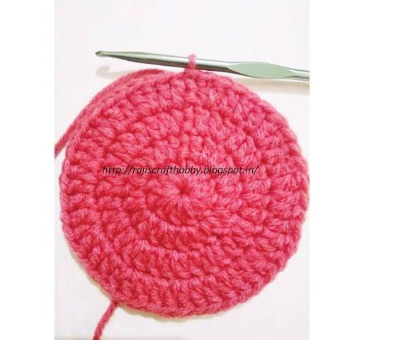 How to Make Seamless Crochet Circle