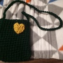 Crochet Outdoor Cellphone Necklace Pouch *pattern Adjustable to the Size of Your Phone