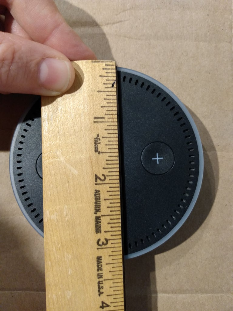 Cut a Hole for the Real Echo Dot